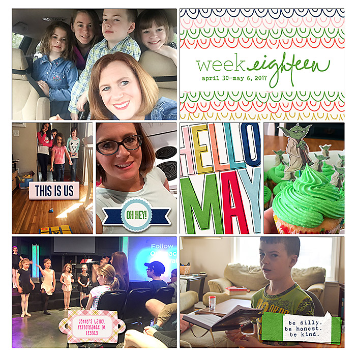 Digital Project Life 2017 {Weeks 17 and 18}