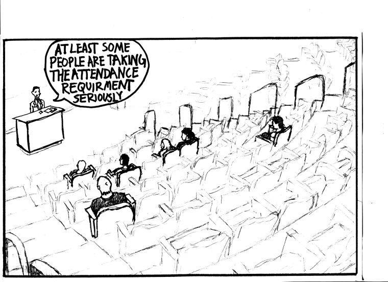 Cartoon: Attendance policy