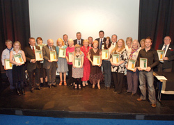 Pride of Andover: The winners and highly commended from the first awards ceremony.