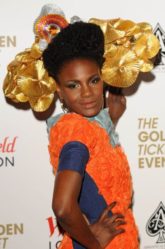 Shingai Shoniwa of the Noisettes