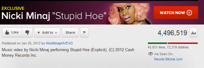 stupid hoe screen capture youtube