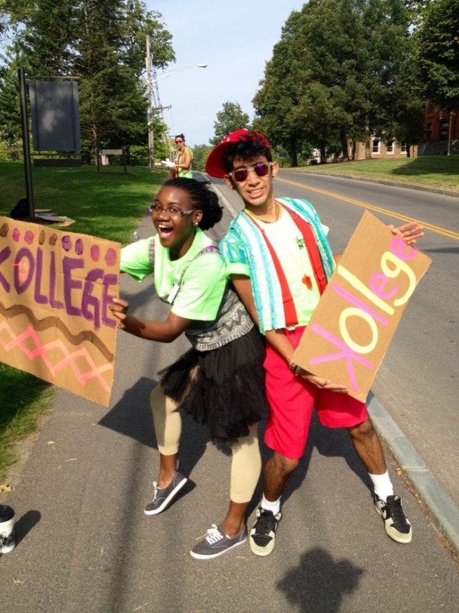 Orientation Leaders, back to school, cool kids