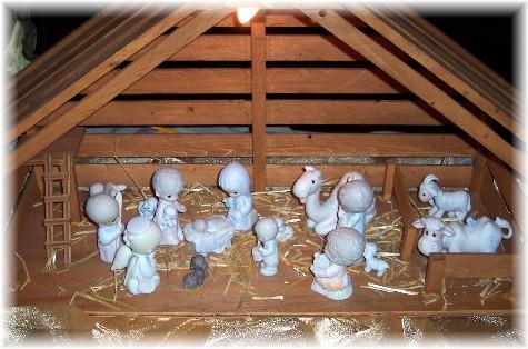 Photo of manger scene