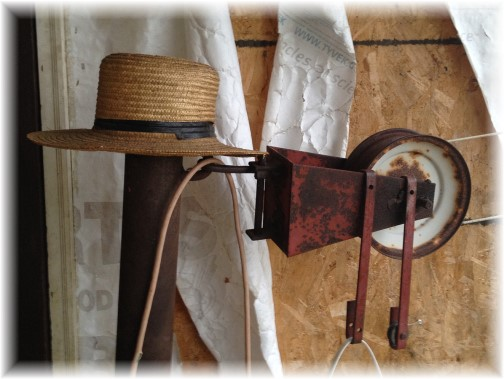 Amish clothesline pulley 10/18/14