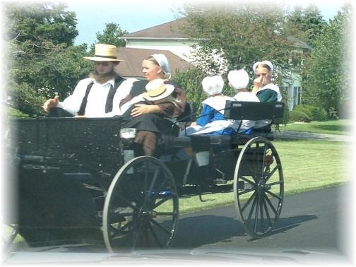 Amish family 7/19/15
