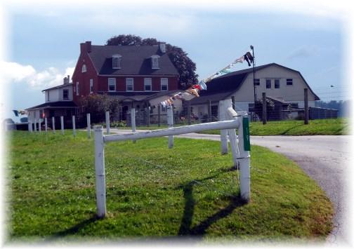 Amish farm in Paradise, PA 9/13/13