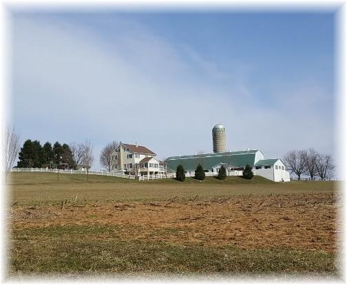 Amish farm near White Horse PA 3/3/16 (Click to enlarge)