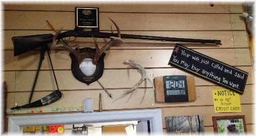 Amish Hardware store near Roxbury PA