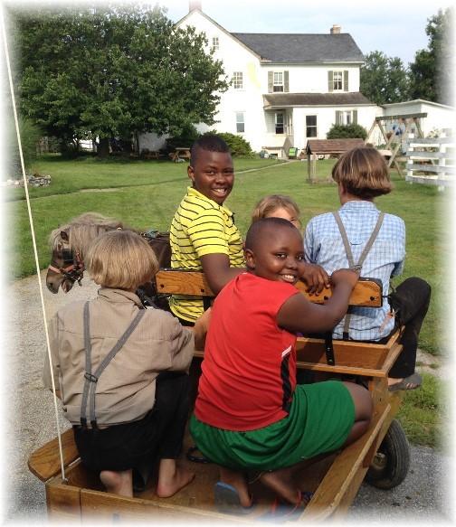 Amish ride