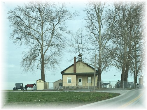 Amish school near Intercourse, PA 1/14/16