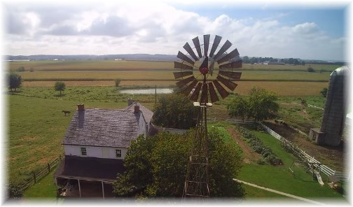 Old Windmill Farm from drone