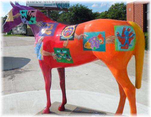 Painted horse near Frankfort, Kentucky