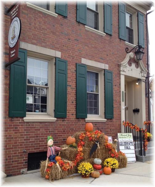 Mount Joy, PA autumn storefront 9/28/15