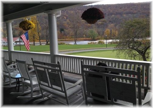 Veranda at the Shawnee Inn, Poconos, PA 11/2/14
