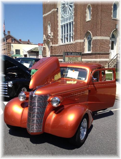 Mount Joy car show 7/26/14