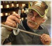 Inspecting rod