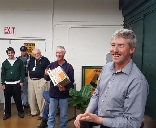 Bob Harris retirement gathering 4/13/17