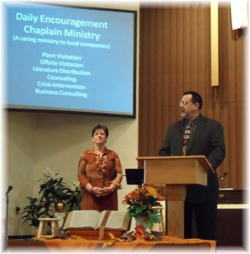 Chaplaincy presentation 11/18/12
