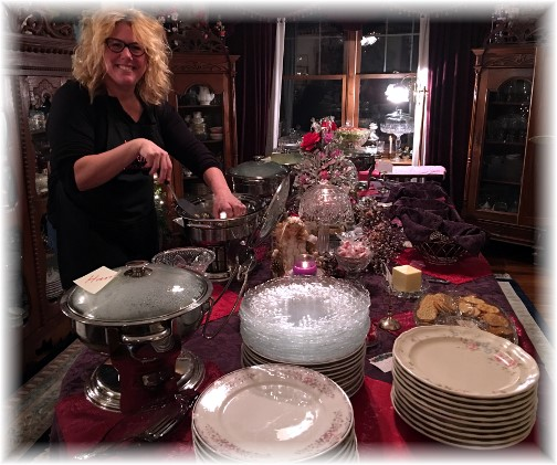 Convene gathering at Hoover home 2/5/16