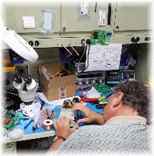 Jerry testing electrical component