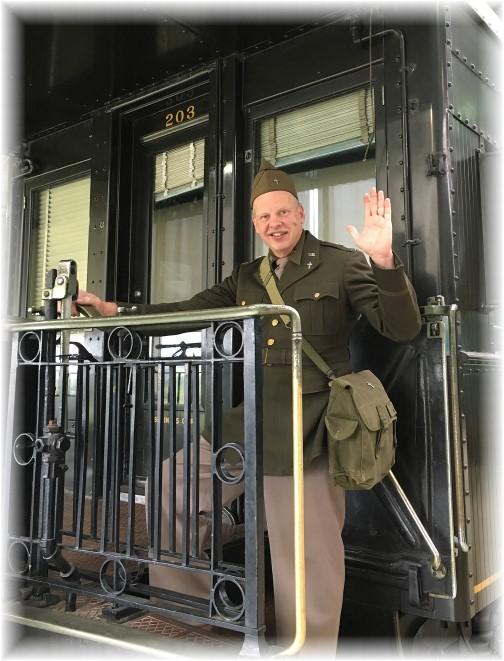 John Uhler at Pennsylvania Railroad Museum 11/5/17