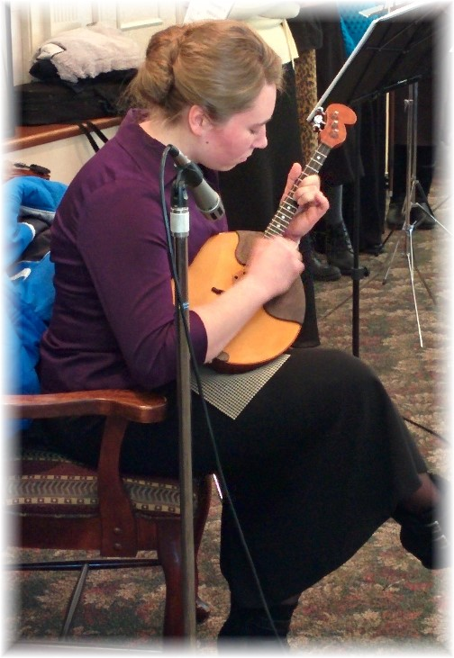 Russian youth playing Dombra 2/22/15
