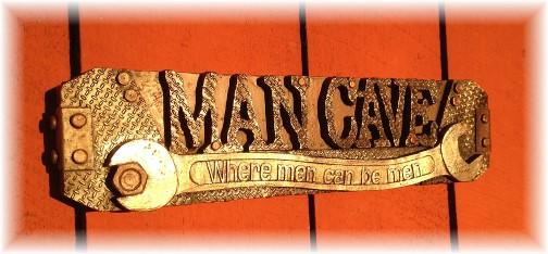"""Man Cave"" Stephen's Christmas gift 2014"