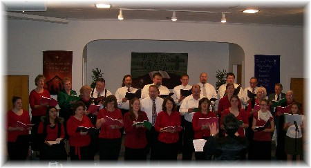 2009 Christmas Choir at Mastersonville