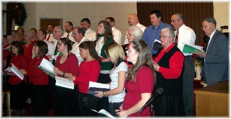 2009 Christmas Choir at Mount Pleasant