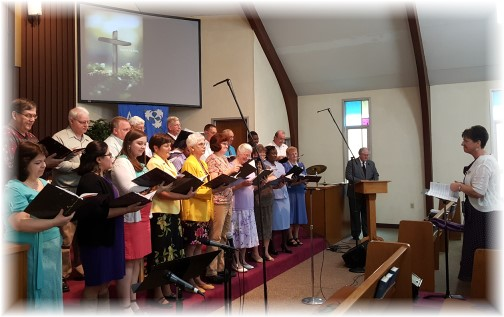 Easter choir 3/27/16
