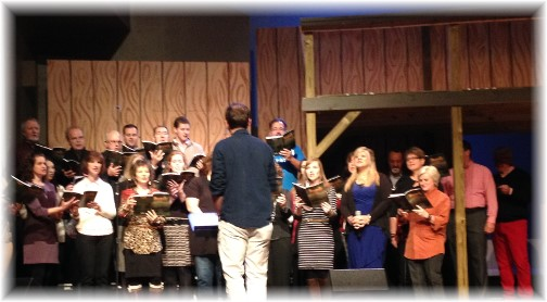 Donelson Fellowship choir 11/30/14