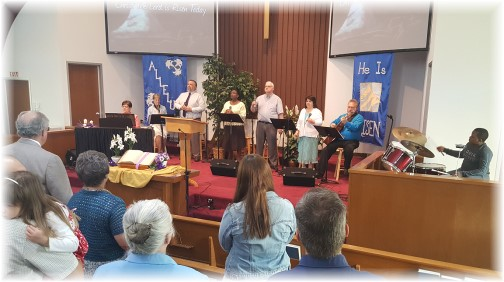 Mount Pleasant Resurrection Day song service 4/16/17