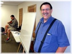 Speaking at Faith Community men's retreat 5/18/13