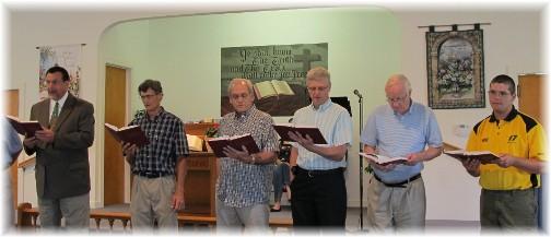 "Men's chorus singing ""I Am A Man"" 6/19/11"