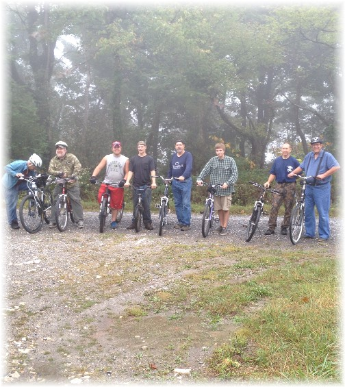 Downhill mountain ride 2015