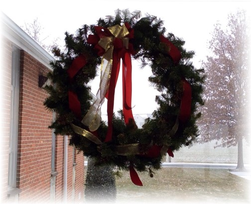 Wreath (Photo by Ester Weber)