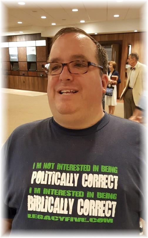 Biblically correct T-shirt 7/2/17