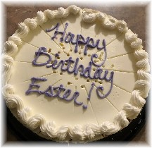 Ester's birthday cheesecake 3/8/18