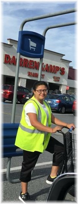 Ester's 2nd work anniversary at Darrenkamps Market 10/1/17
