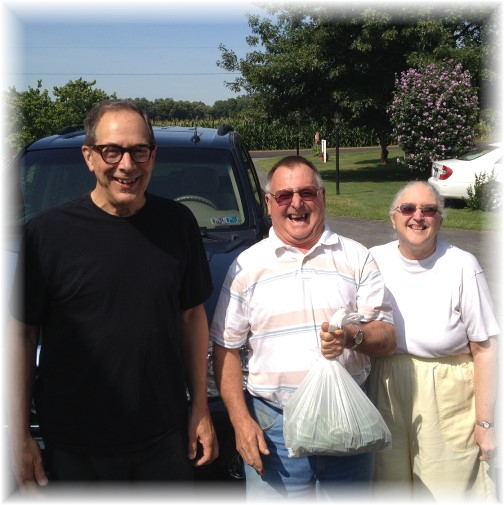 Mike with John and Joan 8/16/14