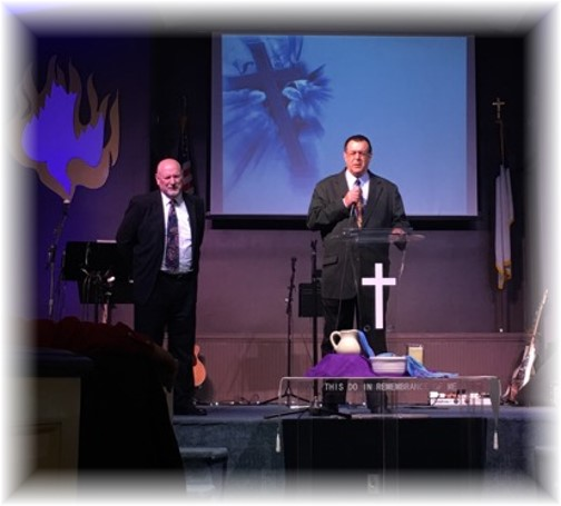 Patrick Weber commissioning service 5/1/16