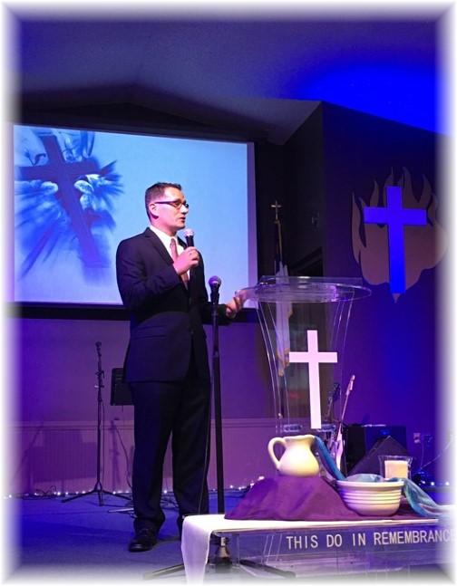 Patrick Weber commissioning service 5/1/16