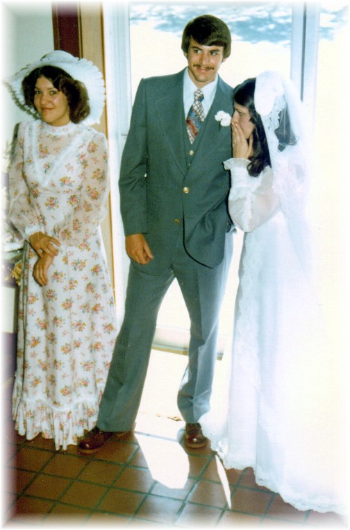 Our wedding 5/8/76