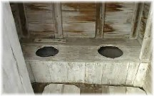 Outhouse seats