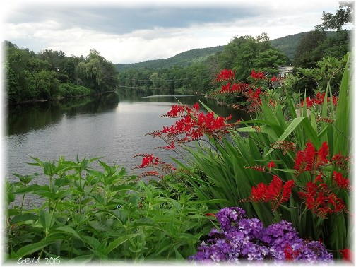 Bridge of Flowers in Shelborne Falls, MA (Photo by Georgia)