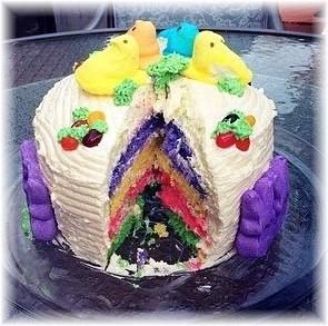 Easter cake 2014
