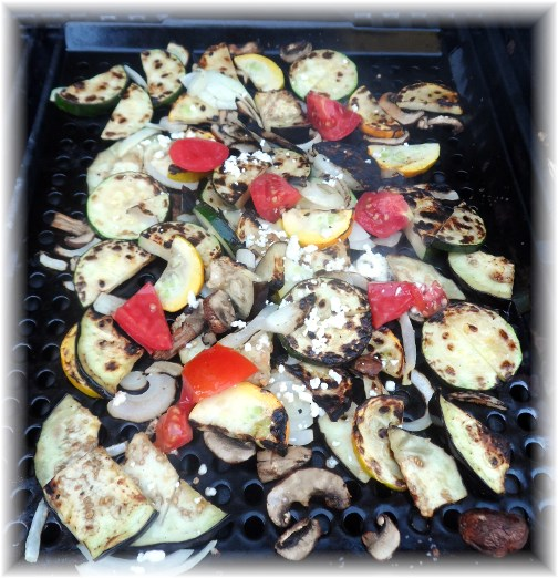 Grilled vegetables 8/4/13