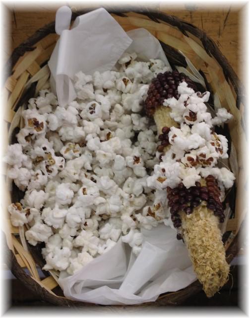 Root's Market popcorn on cob 8/12/14