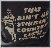 Prospect Diner shirt 6/24/16
