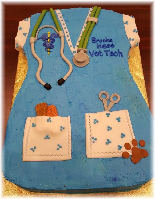 Vet tech cake